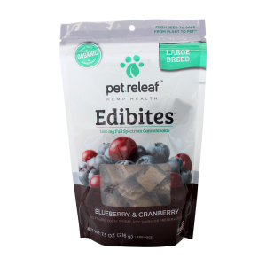 Elixinol Pet Releaf Edibites Blueberry & Cranberry Treat