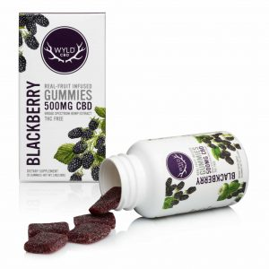 WYLD CBD  Gummies Blackberry