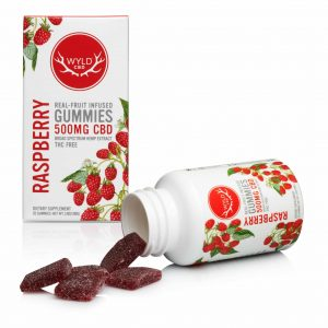 WYLD CBD Gummies Raspberry